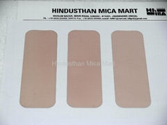Mica sheets, plates, washers, blanks, discs, strips, parts