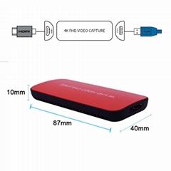 4K HDMI USB3.0 Video Capture box Windows MAC Linux VLC OBS Xsplit live Streaming