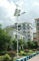 風光互補離網照明路燈系統