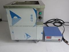 600w单槽式超声波清洗机