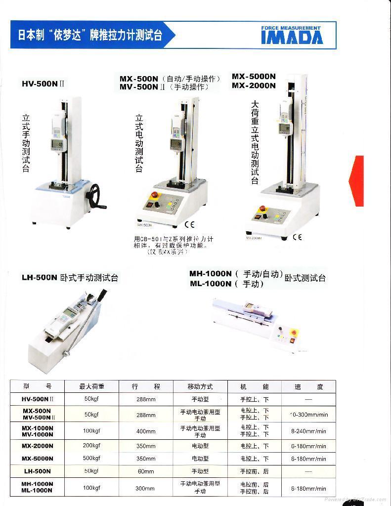 日本依夢達IMADA(今田)電子推拉力計 5