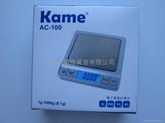 kame 电子磅 ac-100
