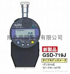 日本TECLOCK电子/数显橡胶硬度计GSD-719J2香港行货