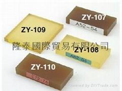 日本得樂TECLOCK橡膠硬度計專用試驗片ZY-107