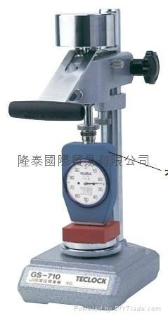 日本TECLOCK橡胶硬度计GS-710定压硬度仪