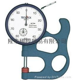 日本TECLOCK得乐厚薄表 厚度计 SM-112 1