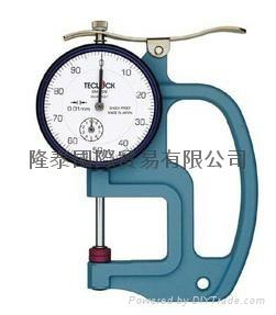 日本TECLOCK得乐厚薄表 厚度计 SM-528 1