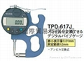 日本TECLOCK得樂數顯/電子厚薄表 TPD-617J
