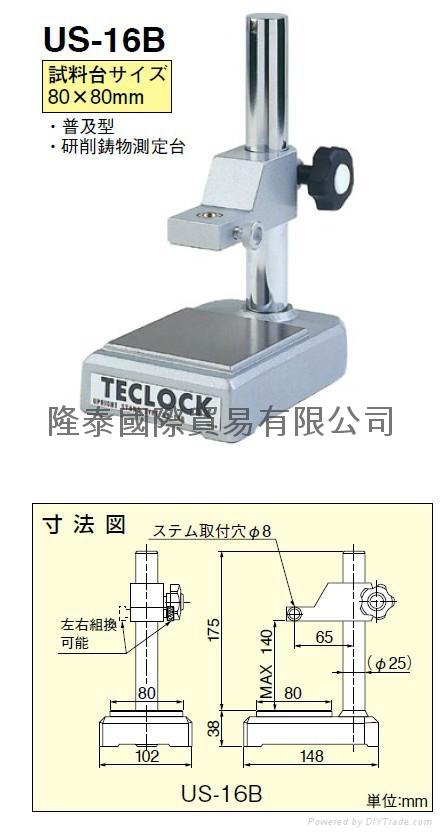 日本得乐TECLOCK表座 表座 US-16B 1