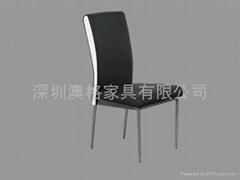 各大餐廳金屬餐椅定做首選澳格餐廳桌椅廠家