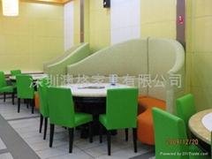大理石火锅餐桌