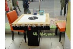 火鍋店餐桌椅