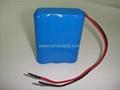 3S Battery Pack 18650 3S1P 11.1V 2600mAh