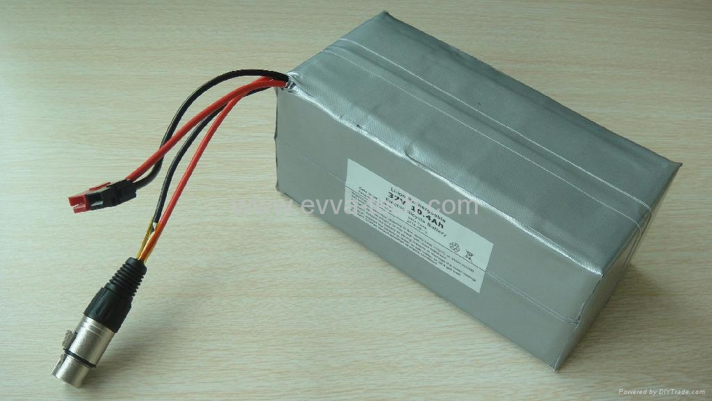 36v Battery Electric Bicycle Pack 18650 10s4p 10ah China