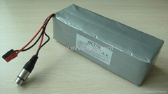 48V Electric Bike Battery Pack 18650 13S3P 10Ah