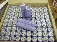 Lithium ion battery Samsung ICR18650-22P 2150mAh (High Power battery)