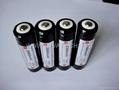 Lithium ion Flashlight Battery Protected 18650 2900mAh