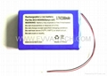 Lithium ion 553450 Battery Pack 3.7V 2300mAh 1S2P