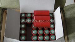 Lithium ion 18500 battery Sanyo UR18500F 1700mAh