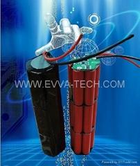 12V AKKU Cylindrical battery pack for Electric bike