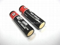 Rechargeable Flashlight Battery Protected 18650 3.6V
