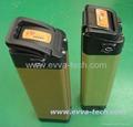 36V e-bike battery pack orange color