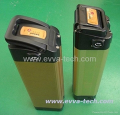 36V e-bike battery pack orange color AKKU .
