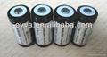 Rechargeable Flashlight battery AKKU 16340 CR123 700mAh 3.0V