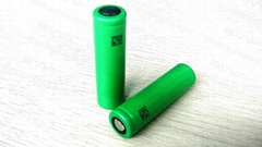 Lithium ion battery US18650VC3 AKKU 18650 2000mAh (high Power cell) .
