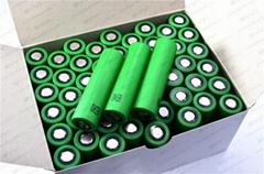 30A discharging E-Cigarette Batteries Sony US18650VTC4 cells