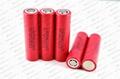 35A high drain batteries LG 18650HE2 2500mAh