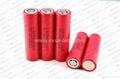 LG 18650HE2 2500mAh high drain 18650 batteries