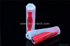 35A E-cig battery 18650 high drain LG 18650HE2 with protection silicone case