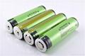 Lithium ion Flashlight Batteries Transparent 18650 3.4Ah