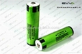 Protected Flashlight Batteries Transparent  Panasonic 18650 3.2Ah