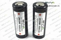 High capacity 26650 5200mAh Protected flashlight batteries