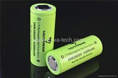(40A) High Power Battery VAPPOWER 3.7V IMR26650 4200mAh for e-cigarette