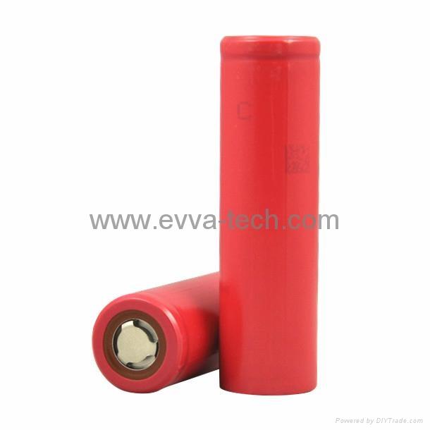 The high capacity Sanyo 18650 3.4Ah  NCR18650BF 3400mAh