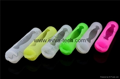 Silicone 18650 battery protection case