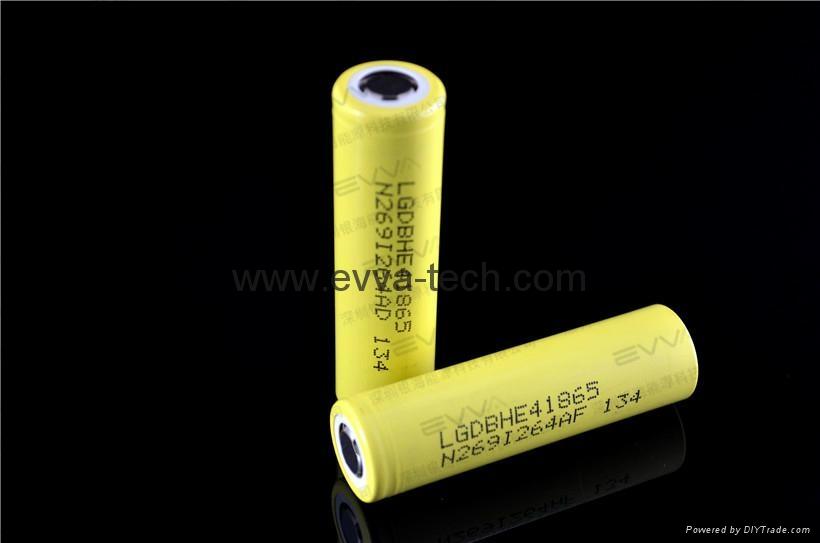 18650 HIGH POWER BATTERY LG 18650 HE4 2500mAh