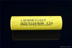 35A high drain IMR18650 batteries LG HE4 2500mAh for power tools batteries