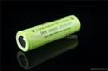 35A high drain battery Vappower IMR18650 2500mAh  batteries for E-cigarette