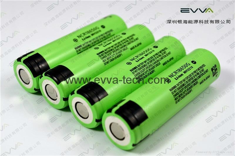 Panasonic NCR18650G 3.6V 3600mAh The newest model 18650 Lithium ion battery