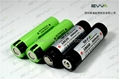 The best capacity Lithium ion Flashlight Battery Protected 18650 3600mAh