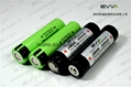 3.7V 3600mAh High capacity Flashlight Batteries Panasonic NCR18650G