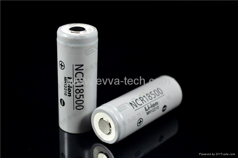 Original PANASONIC 18500 2000mAh battery cell NCR18500 AKKU
