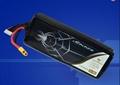 UAV battery pack 22.2V 15000mah 15C lithium ion battery for Multi Rotors