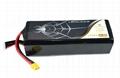 Lithium ion Multi Rotors battery/UAV battery 22.2V 15000mah 15C for UAV/FPV