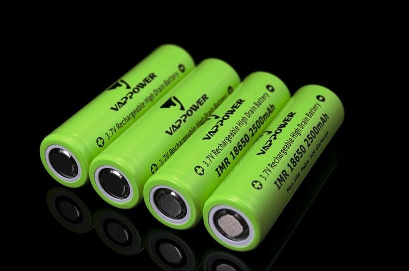 Vappower IMR18650-25 2500mAh 35A 18650 AKKU lithium ion battery