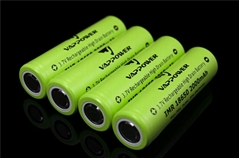 Vappower IMR18650-20 2000mAh 30A high power  battery for E-cigarette